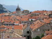 Roofs of Dubrovnik — Stock Photo