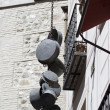 Royalty-Free Stock Photo: Hanging pots in toledo