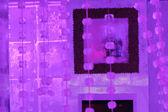 Ice cube bar — Stock Photo