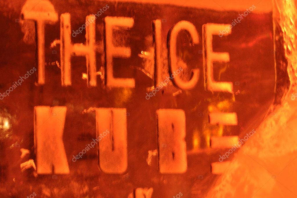 Ice cube — Stock Photo #1958142