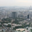View of the city of Seoul — Stock Photo