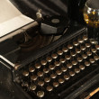Manual typewriter — Stock Photo