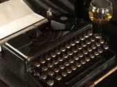 Manuelle Schreibmaschine — Stockfoto