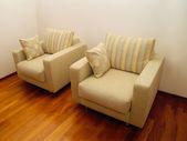Pairs of chairs — Stock Photo
