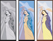 Muses — Stock Vector