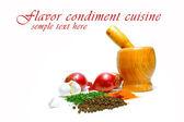 Condiment cuisine — Stock Photo