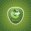 Vector de stock : Eco Recycling Icon