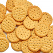 Heap of biscuits — Stock Photo