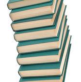 Books pile — Stock Photo