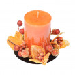 Decorative candle — Stock Photo #1889993