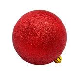 Jul röd boll — Stockfoto