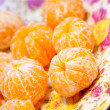 Stock Photo: Tangerines without peel