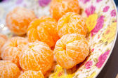 Tangerines without a peel — Stock Photo