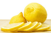 Lemon cut — Stock Photo