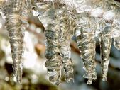 Abstract icicles — Stock Photo
