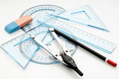 Drawing instruments — Stock Photo