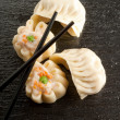 Mix dim sum - Stock Photo