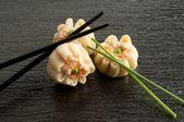 Shrimp dim sum — Stock Photo