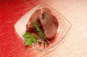 Raw tenderloin — Stock Photo