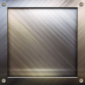 Metal template background — Stock Photo