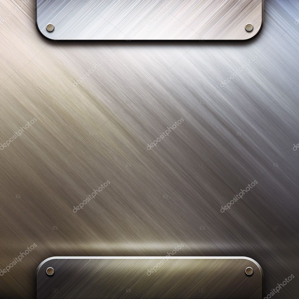 Metal template with empty space  — Stock Photo #1871385