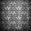 Stock Photo: Metal background (silver collection)