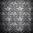 Metal background (silver collection) — Stock Photo