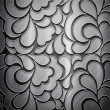 Metal background (silver collection) — Stockfoto