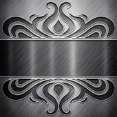 Metal background (silver collection) — ストック写真