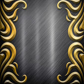 Metal background (silver collection) — Photo