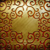 Metal background (golden collection) — Stock Photo