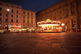 Night scene in Florence — Stock Photo