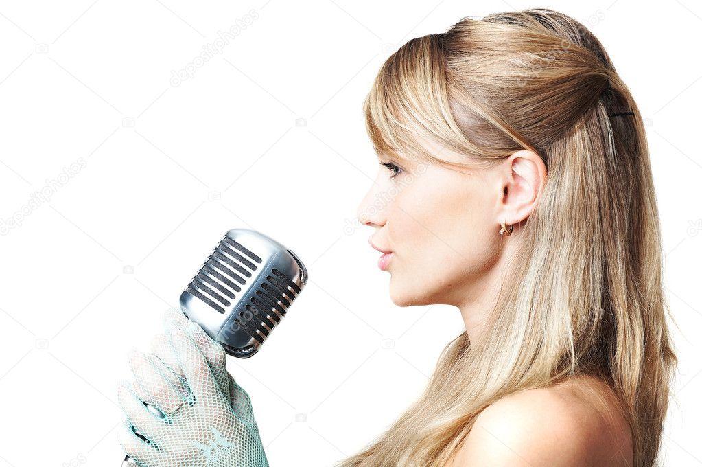 singing the girl retro - photo #23