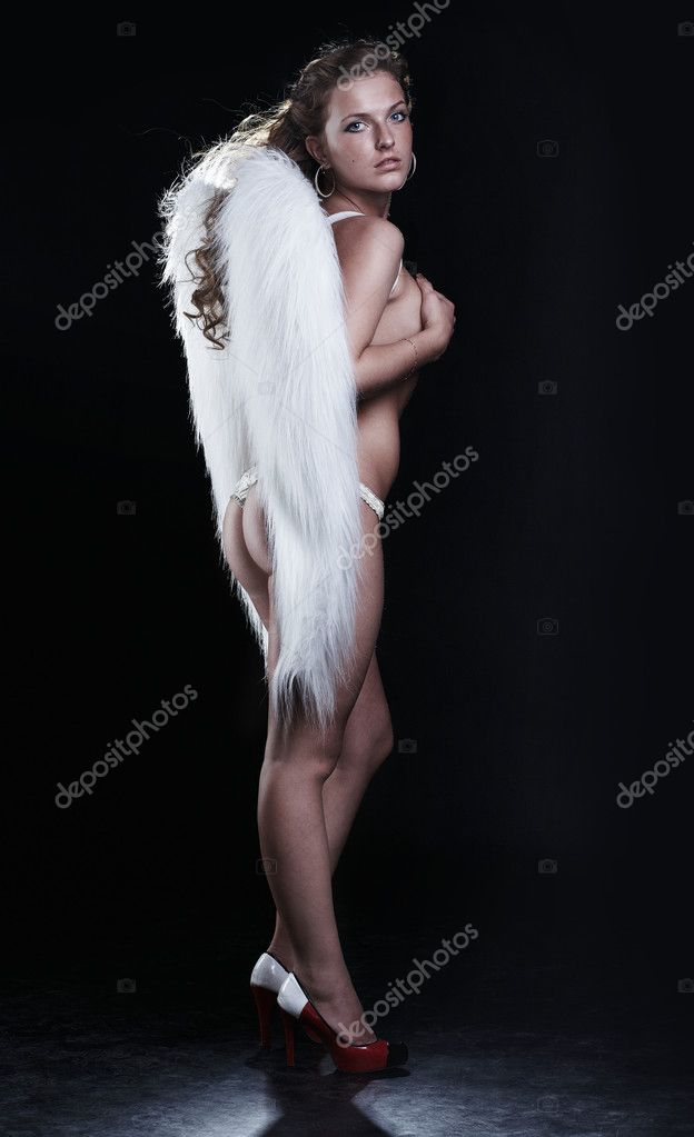 Angel on black — Stock Photo #1913545