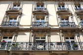 Balconies in France — Stock Photo