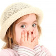 Young girl in hat — Stock Photo #1892135