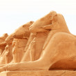 Stock Photo: Sphinx sculptures