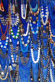 Egyptian necklaces — Stock Photo