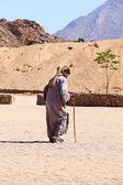 Beduínský muž — Stock fotografie
