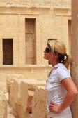 Turismo femmina — Foto Stock