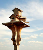 Vogelhaus — Stockfoto