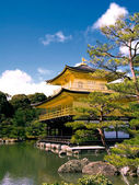 Kinkaku (The Golden Pavilion) — Stock Photo