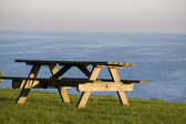 Lonely Table — Stock Photo