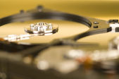 Two Hard Drive Macro — Stock Photo