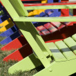 Chair in Rainbow Colors — Stock Photo #1951344