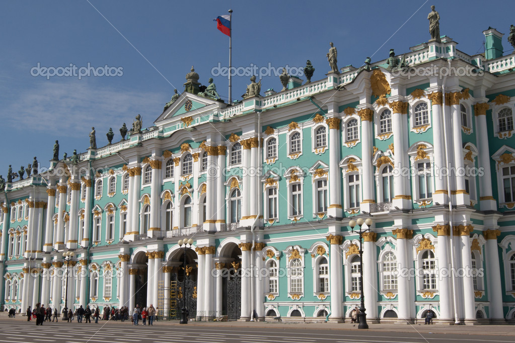 Russia. St.-Petersburg. The Hermitage (Winter Palace)  Stock Photo #1835990