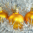 Yellow New Year&#039;s - Stock Photo