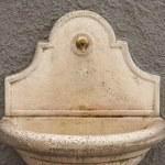 umywalką — Zdjęcie stockowe