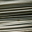 Stock Photo: Steel rod background