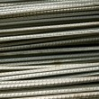 Steel rod background — Stock Photo